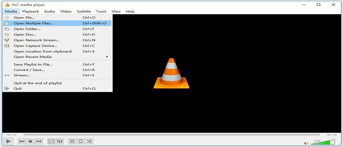 Play M3U Files with VLC